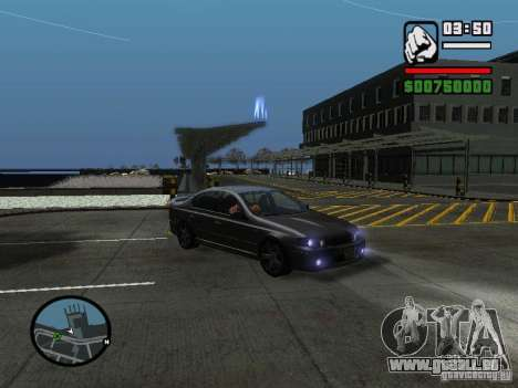 Ford Falcon XR8 pour GTA San Andreas vue de droite