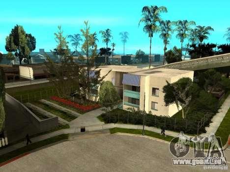 New Grove Street TADO edition pour GTA San Andreas huitième écran