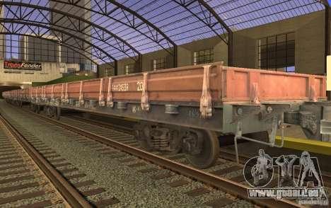 Mod de chemin de fer pour GTA San Andreas dixième écran