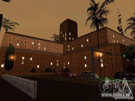 Nouvel hôpital de textures à Los Santos pour GTA San Andreas troisième écran