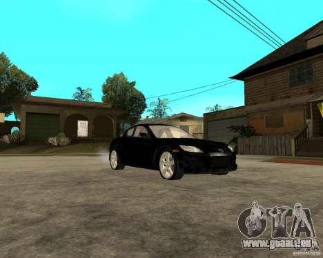Mazda RX-8 pour GTA San Andreas vue arrière