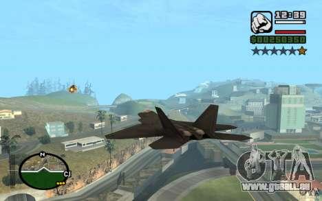 Hydra, Panzer mod für GTA San Andreas her Screenshot