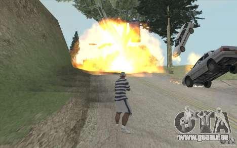 Vague de feu pour GTA San Andreas