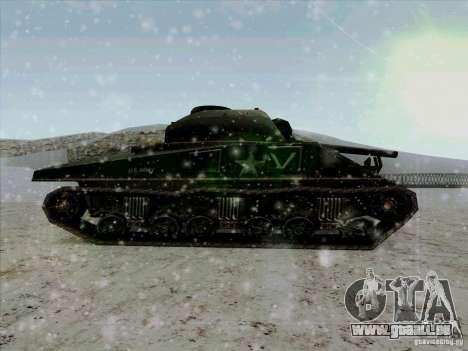 Sherman pour GTA San Andreas laissé vue
