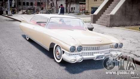 Cadillac Eldorado 1959 (Lowered) pour GTA 4 Vue arrière