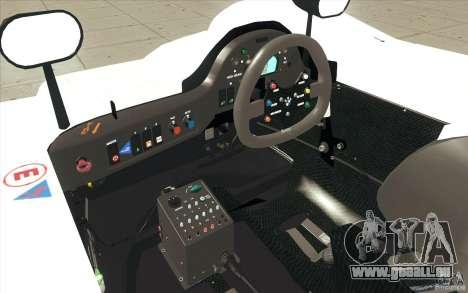 BMW V12 LeMans - Stock pour GTA San Andreas vue de dessus