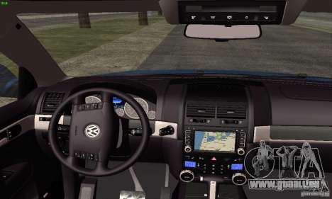 VolksWagen Touareg R50 JE Design Tuning für GTA San Andreas rechten Ansicht