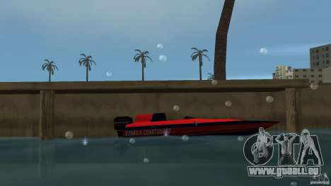 San Andreas Coast Guard für GTA Vice City linke Ansicht