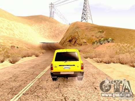 Toyota Land Cruiser 80 Off Road Rims pour GTA San Andreas vue de droite