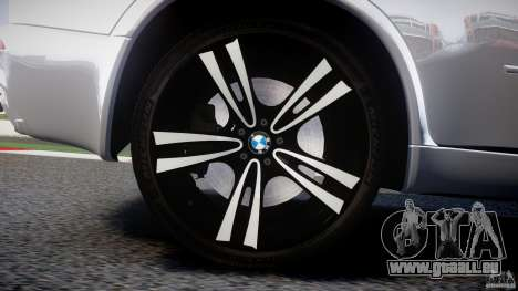 BMW X5M Chrome für GTA 4-Motor