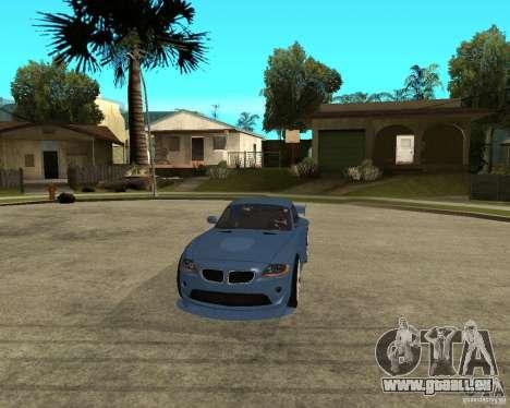 BMW Z4 Supreme Pimp TUNING volume I pour GTA San Andreas vue intérieure