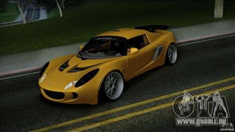 Lotus Exige Track Car pour GTA San Andreas vue arrière
