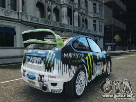 Ford Focus RS WRC pour GTA 4 est une gauche