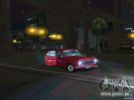 GAZ 24 CR v2 pour GTA San Andreas vue arrière