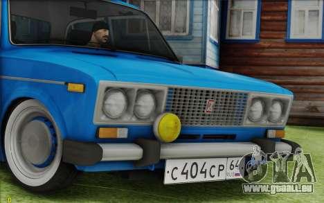 VAZ 2106 Retro pour GTA San Andreas vue de droite
