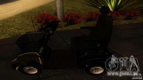 Elektroscooter - Speedy pour GTA San Andreas vue de droite