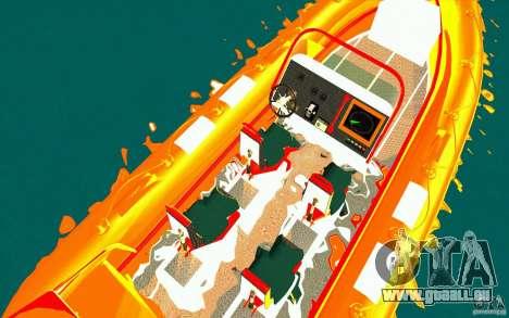 Inferno orange pour GTA San Andreas vue de droite