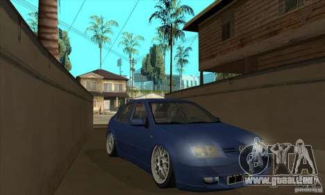 VW Bora VR6 Street Style für GTA San Andreas Rückansicht