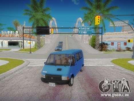 Renault Trafic T1000D Minibus für GTA San Andreas linke Ansicht