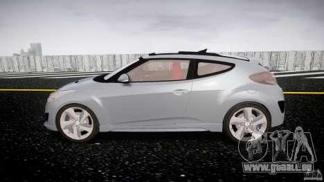 Hyundai Veloster Turbo 2012 pour GTA 4 est une vue de l'intérieur