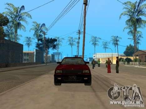 Blista From GTA IV für GTA San Andreas linke Ansicht