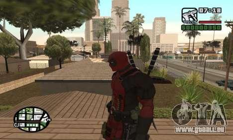 Dead Pool pour GTA San Andreas quatrième écran