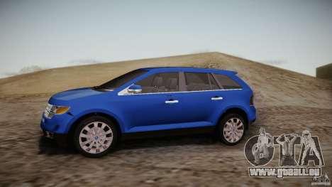 Ford Edge 2010 pour GTA San Andreas laissé vue