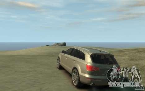Audi Q7 für GTA 4 hinten links Ansicht