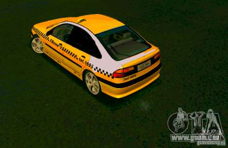 Renault Megane Taksi für GTA San Andreas linke Ansicht