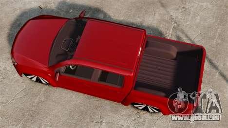 Volkswagen Amarok 2.0 TDi AWD Trendline 2012 pour GTA 4 est un droit