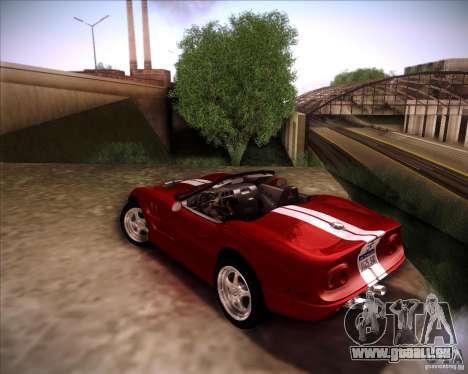 Shelby Series One 1998 pour GTA San Andreas vue de droite