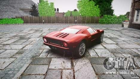 Ford GT für GTA 4 Seitenansicht