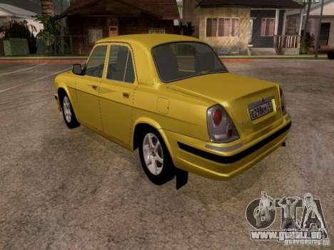 GAZ Wolga 31107 für GTA San Andreas rechten Ansicht