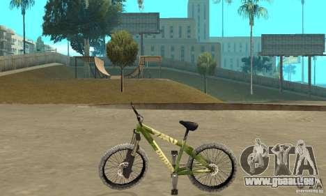 Hardy 3 Dirt Bike pour GTA San Andreas laissé vue