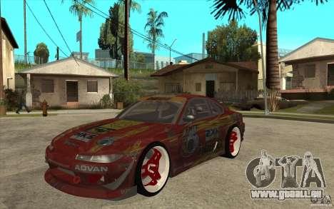 Nissan Silvia HKS Genki für GTA San Andreas