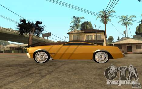 MGC Phantom pour GTA San Andreas laissé vue