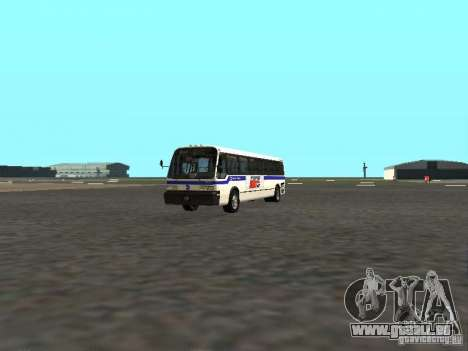 GMC RTS MTA New York City Bus für GTA San Andreas linke Ansicht
