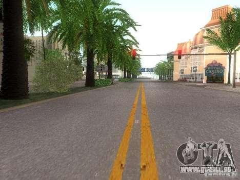 Modification Of The Road pour GTA San Andreas cinquième écran