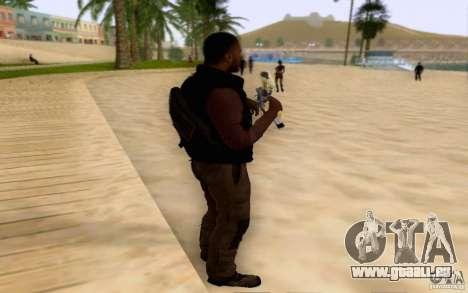 Salazar dans le civil pour GTA San Andreas deuxième écran