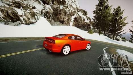 Dodge Charger R/T 2011 Max pour GTA 4 est une gauche