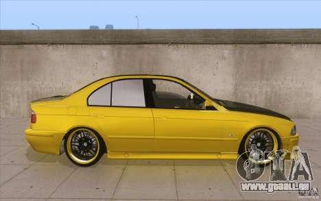 BMW M5 E39 - FnF4 pour GTA San Andreas vue intérieure