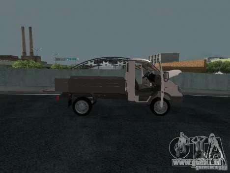 Sable 2310 de gaz à bord pour GTA San Andreas vue de droite