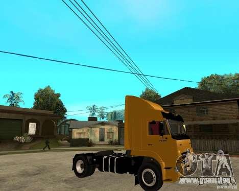 KAMAZ 5460M TAI version 1.5 pour GTA San Andreas vue de droite