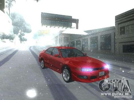 Mitsubishi Galant VR6 pour GTA San Andreas laissé vue