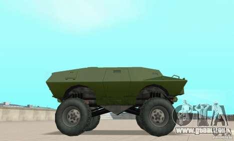 Trail Monster V.1.0 pour GTA San Andreas vue de droite