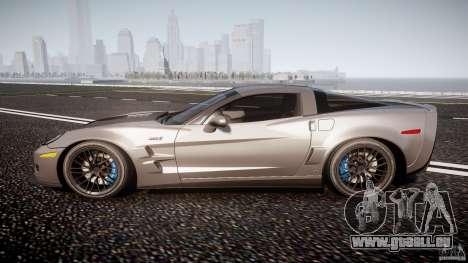 Chevrolet Corvette ZR1 2009 v1.2 für GTA 4 linke Ansicht