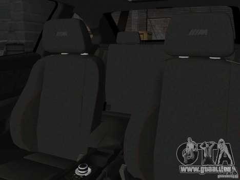 BMW 1M Coupe RHD pour GTA Vice City vue arrière