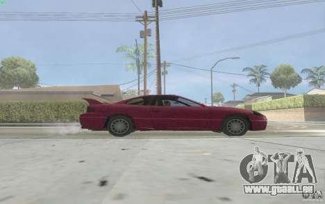 New Alpha pour GTA San Andreas sur la vue arrière gauche