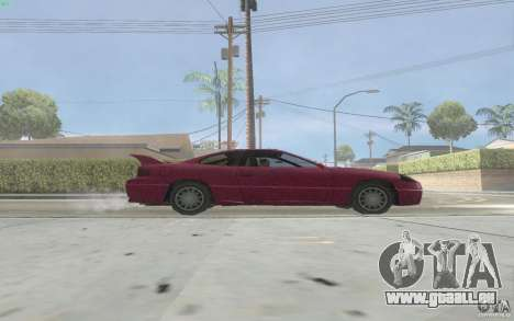 New Alpha für GTA San Andreas zurück linke Ansicht