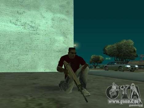 FN Scar-L HD für GTA San Andreas fünften Screenshot